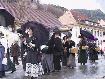 Fasnachtsumzug in Oberwolfach