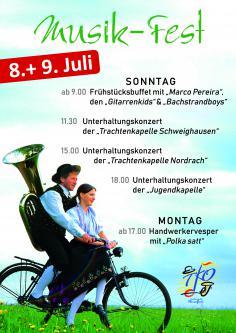Sommerfest der Trachtenkapelle Oberwolfach