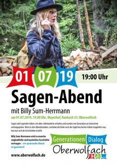 Generationen.Dialog.Oberwolfach - Sagen Abend