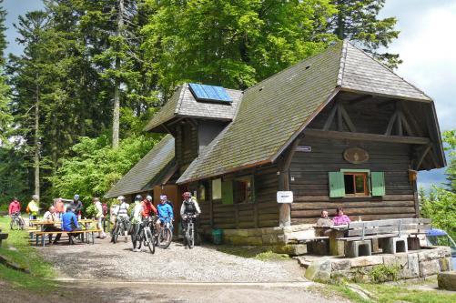 Eröffnung der Hüttensaison am Kreuzsattel