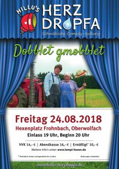 Comedy Freitag - Openair am Hexenplatz