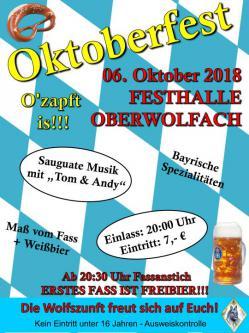 Oktoberfest der Wolfszunft Oberwolfach