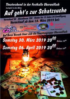 Plakat Theaterabend