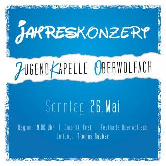 Jahreskonzert der Jugendkapelle Oberwolfach