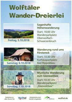 Wolftäler Wander-Dreierlei - Sagenhafte Höhenwanderung